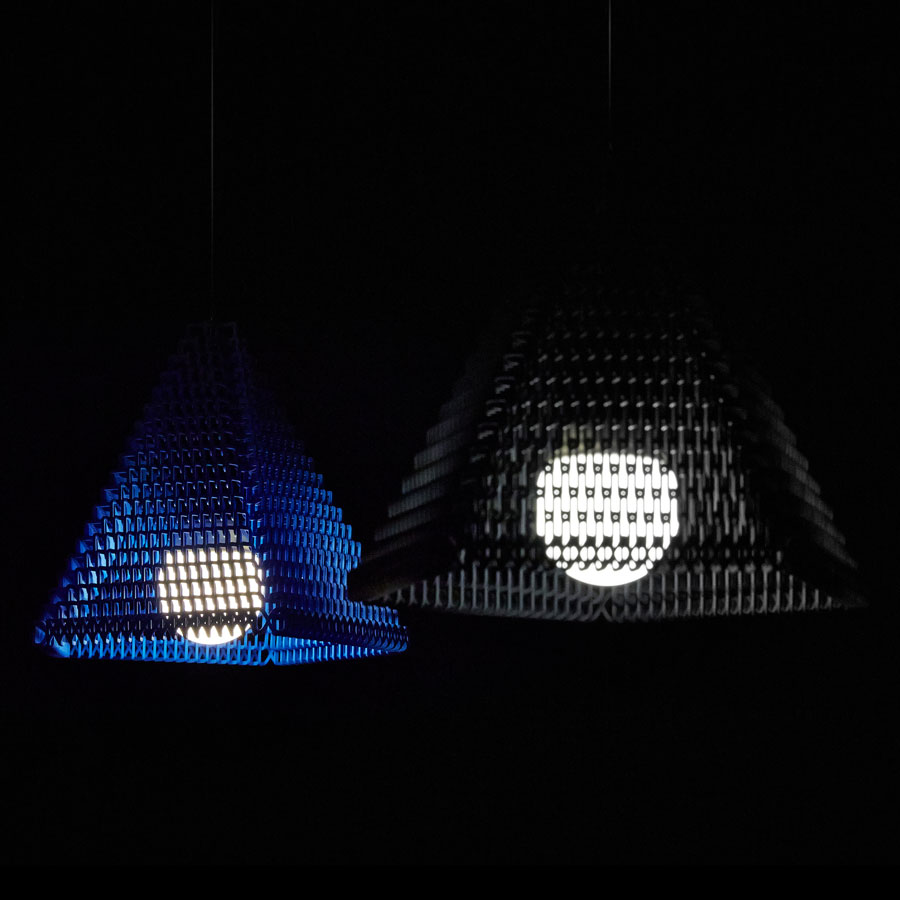 ZooM_3D-printed_ Lampshade